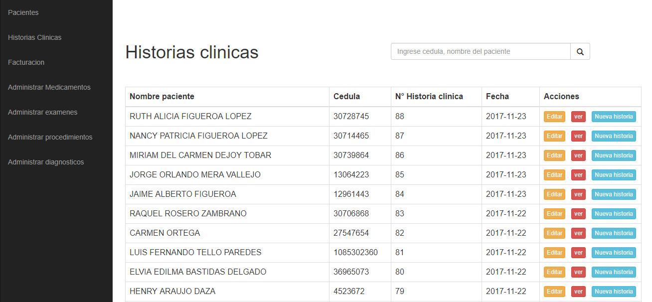 Sistema de gestion pacientes (Coldermica)